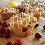 Cranberry Muffins with Walnut Streusel