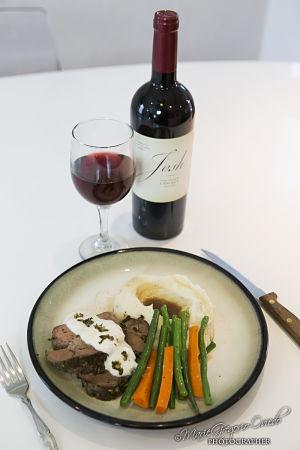 Wine & Whimsy Roast Beef Cast Dinner