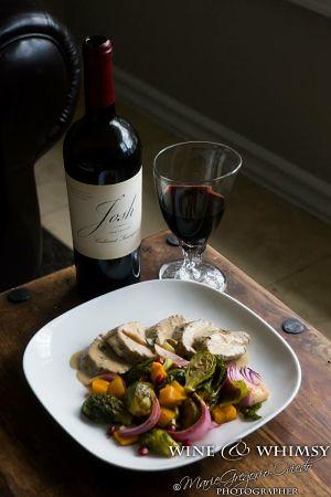 Wine & Whimsy Pork Tenderloin Cast Meal