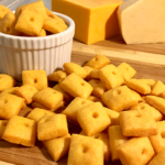 Easy Cheese Crackers | Homemade cheese crackers that are simple and delicious? Yes please!