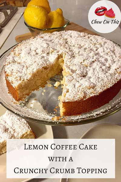 Lemon Coffee Cake