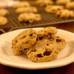 Chocolate Chip Tahini Cookies | Easy chocolate chip tahini cookies that are rich in flavor and delicious!