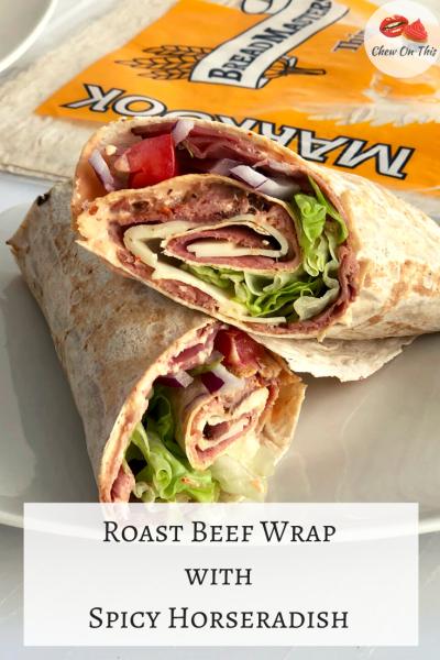Roast Beef Sandwich Wrap