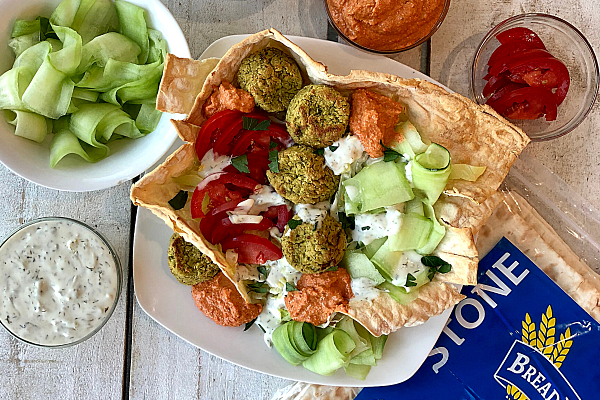 Falafel Salad Bowl