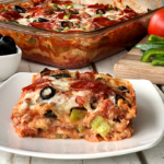 Flatbread Pizza Casserole