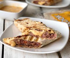 Beef & Cheddar Panini