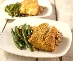 Pork Panko Crusted Lingcod