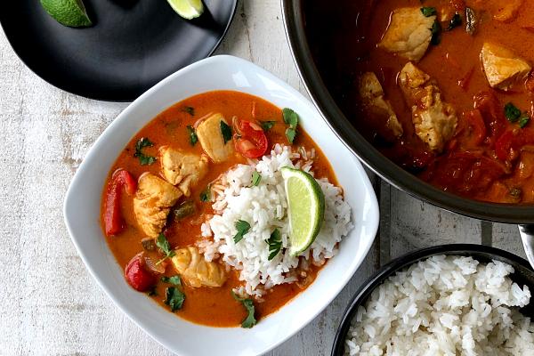 Brazilian Style Fish Stew Moqueca