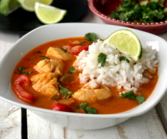 Brazilian Style Fish Stew (Moqueca)