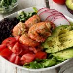 Spot Prawn Salad Bowl