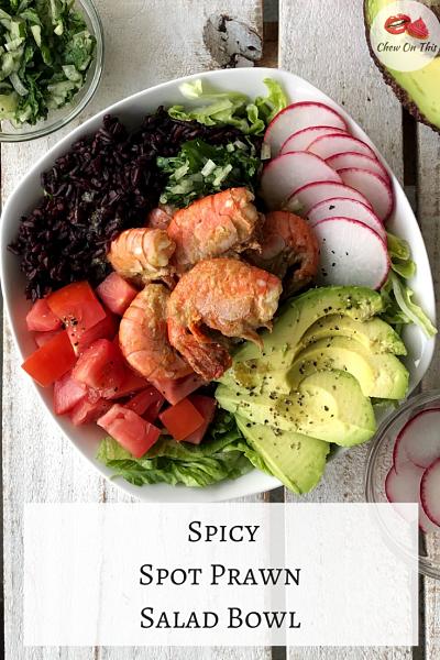 Spot Prawn Salad
